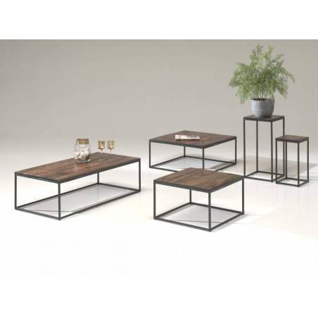 Table d'appoint - Table d'appoint 'Madeira' Mangolia(60x60)